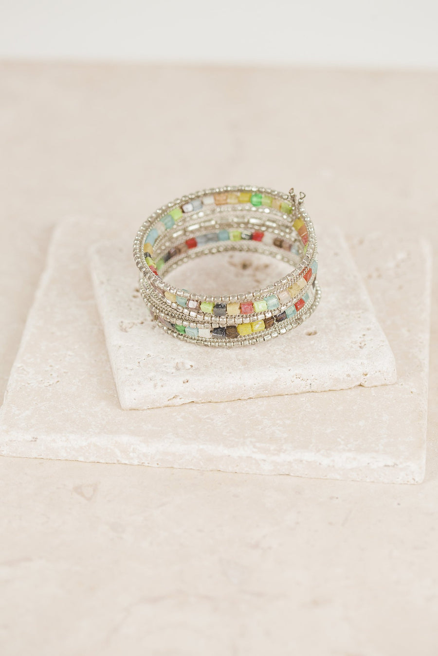 Chromatic Beaded Bracelet