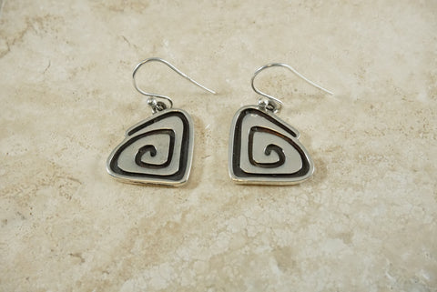 Sterling Silver Make a Ripple Earrings