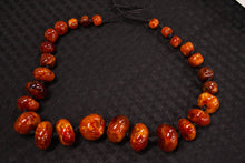 Load image into Gallery viewer, Amber Stone Necklace