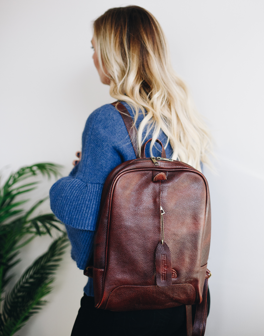 All-For-One Leather Backpack (Large)