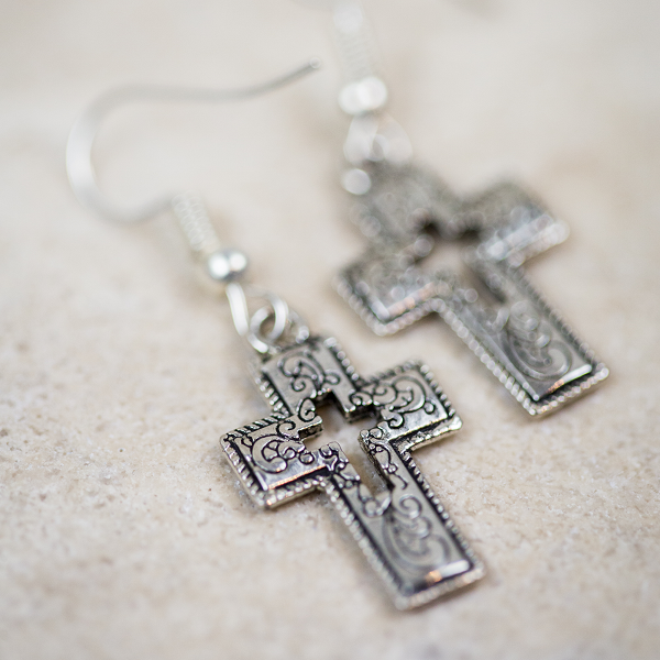 Jubilee Cross Earrings