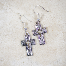 Load image into Gallery viewer, Jubilee Cross Earrings
