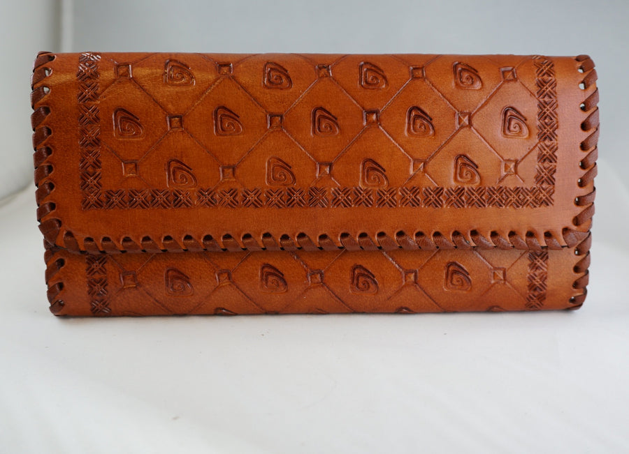 Ripple Clutch Wallet