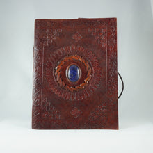 Load image into Gallery viewer, Blue Onyx Leather Journal