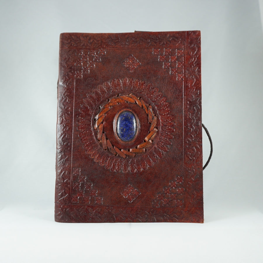 Blue Onyx Leather Journal