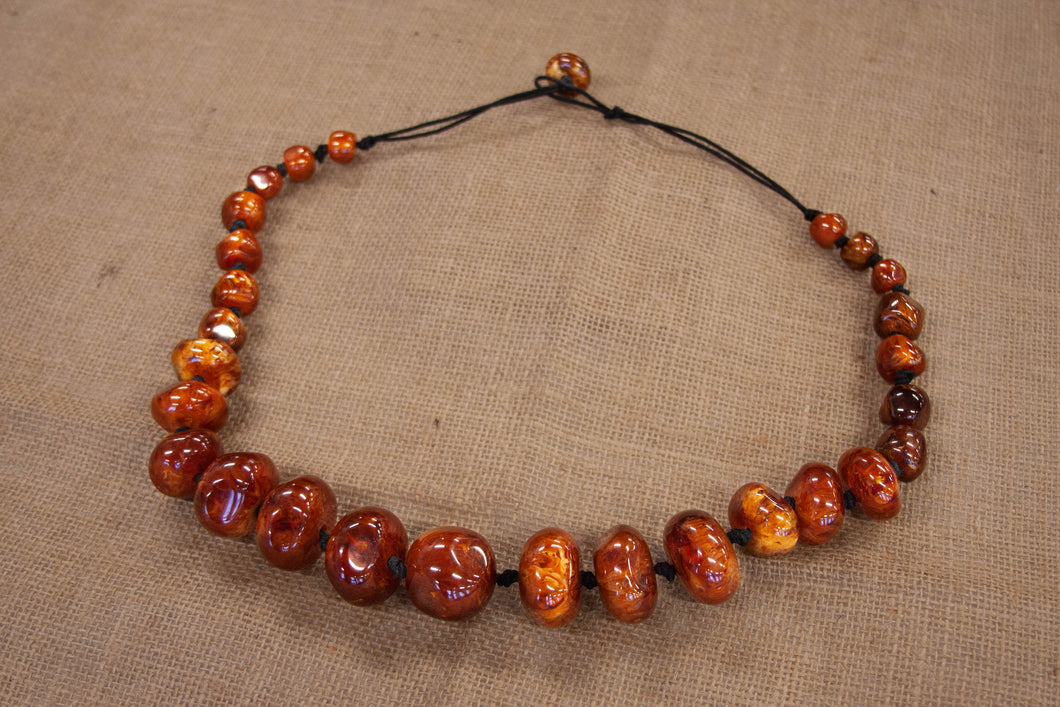 Amber Stone Necklace