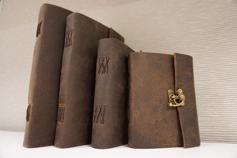 Handmade Classic Leather Journal with Latch