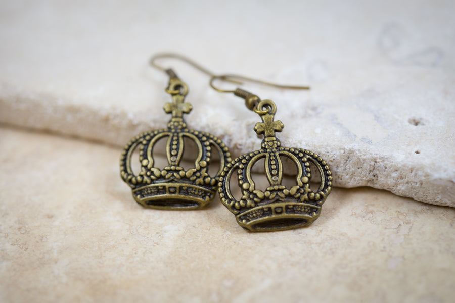 Daughter of the King - Bronze Earrings
