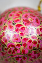 Load image into Gallery viewer, Handmade and hand painted decorative ornament pink