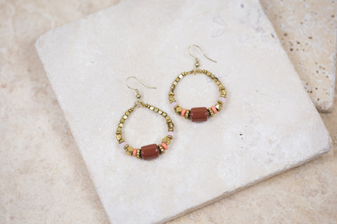 Swarna Hoops Earrings