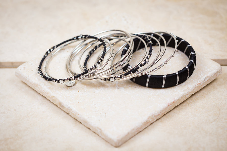 Eternity bangle-bracelets