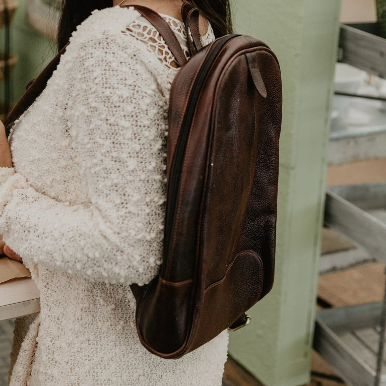 All-For-One Leather Backpack