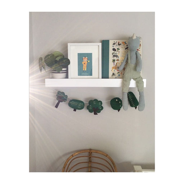 'Wild Wood' Felt Wall Garland - Collaboration with Heartfelt and Handmade