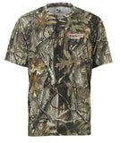 Camo Short Sleeve Moisture Wicking Shirt - PCCW22F
