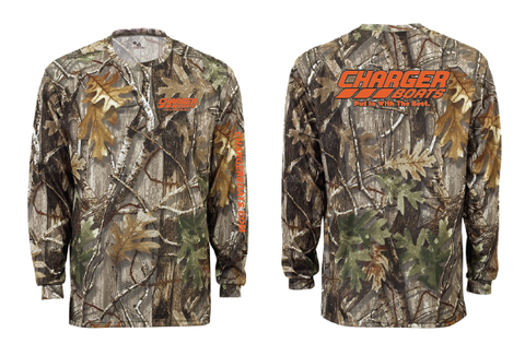 Camo Long Sleeve Moisture Wicking Shirt - CHCW26F