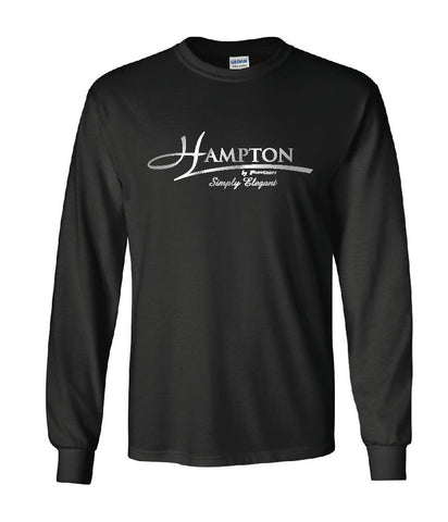 Graphite Moisture Wicking Long Sleeve T-Shirt - HB CW26G