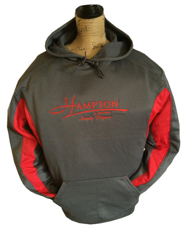 Hampton Boats - Moisture Wicking Hoodie - HB 1465