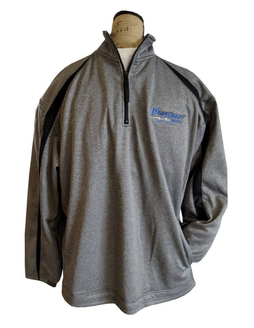 Fleece quarter-zip pullover - PC 1481