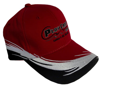 Structured Cap - PC 6CTF-red