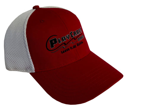 Sport Mesh Back Cap -PC SWM-600red