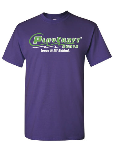 Purple Short Sleeve T-shirt - PC108P