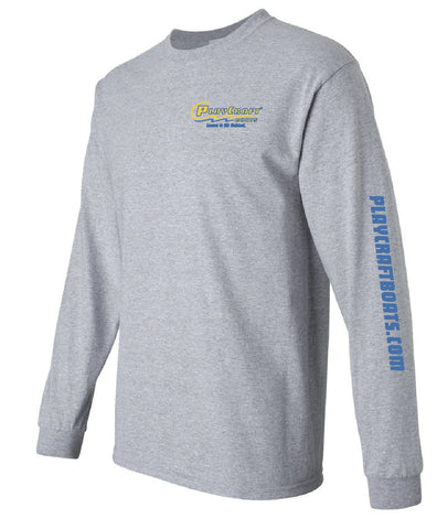 Sport Grey Long Sleeve T-Shirt - PC118G