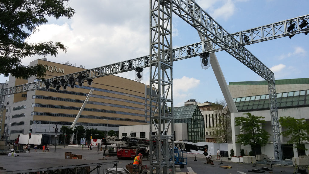 A 140' Long Truss for the Fashion & Design Festival in Montreal 2016