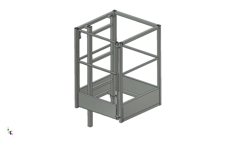 Follow Spot Cage Access (5009-101-00) (4) - Mega Stage