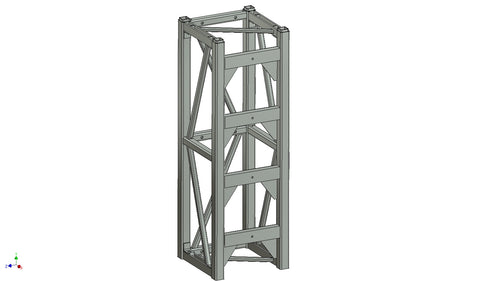Tower 20''X20''X60'' (13030041-09) (4) - Mega Stage