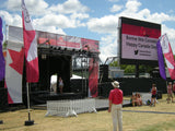 Mobile Stage 24'X20'X14' (Rental Unit 161) - Mega Stage