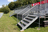 DEAL 272 Seats Aluminium Bleachers with Galvanized Sub Structure - Mega Stage