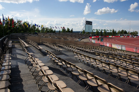 480 Seats Outdoor or Indoor Audience Riser - Mega Stage