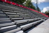 500 Seats Aluminium Bleachers with Galvanized Sub Structure - Mega Stage