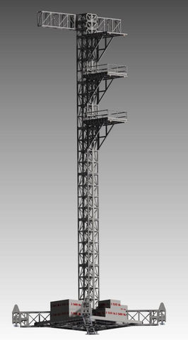 Follow Tower 80K Mast & Mega Base (Dual) - Mega Stage