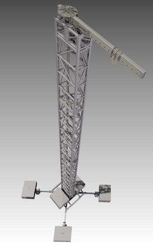 Delay Tower 80K Mast & Mega Base - Mega Stage