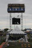 Wide Follow Spot Tower - Mega Stage
