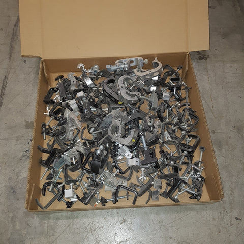 Lot 361: Lot of baby clamps + trigger clamps - Mega Stage