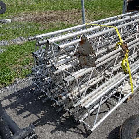 "8""x12"" by 10 ft long customaluminium trusses - Mega Stage"