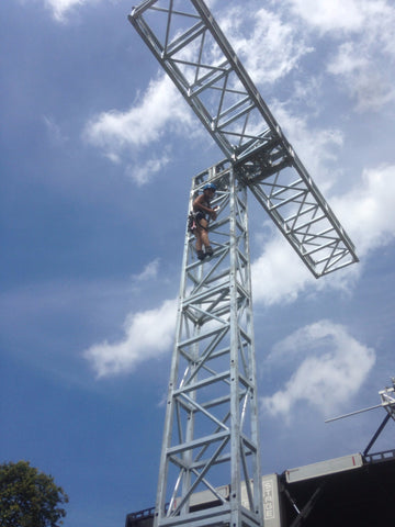 Led Tower 80K Mast & Mega Base - Mega Stage