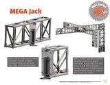60' TALL FOLLOW & LED SUPPORT (free standing) - Mega Stage