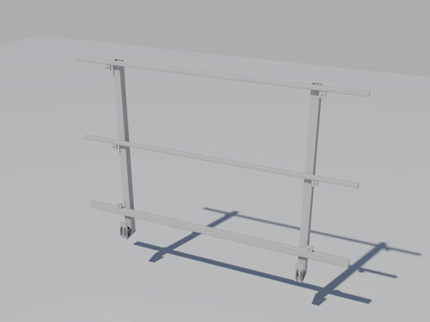 Railing - Galvanized Tubular Steel Frame ( For Workers)