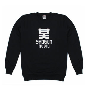 Shogun Audio - Black Sweatshirt with White Logo - Shogun Audio