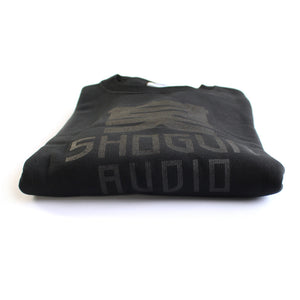 Shogun Audio - Black on Black Sweatshirt - Shogun Audio