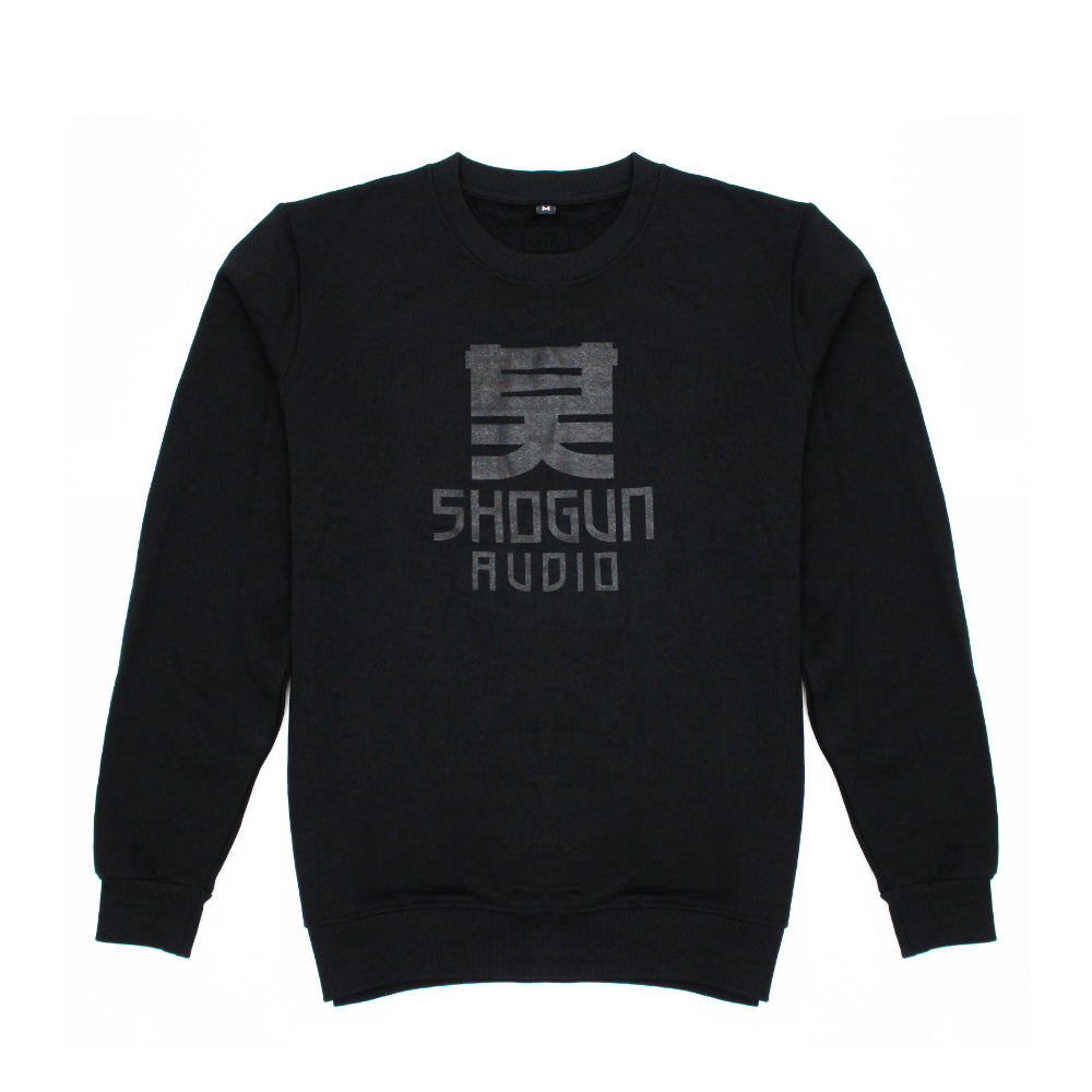 Black on Black Sweatshirt - Shogun Audio