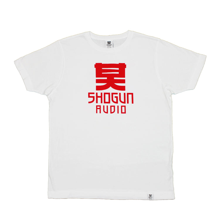 Shogun Audio - Classic T-Shirt Red On White - Shogun Audio