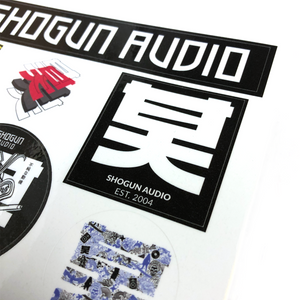 Shogun Audio Sticker Sheet - Shogun Audio