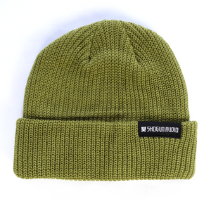 Shogun Audio Beanie Green - Shogun Audio