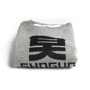 Shogun Audio - Grey Sweater with Black Logo - Shogun Audio