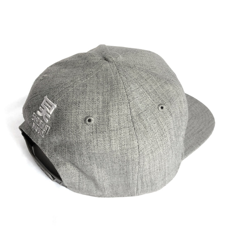 Shogun Audio Snapback Cap Grey - Shogun Audio