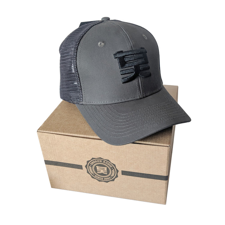 Shogun Audio Trucker Hat Grey - Shogun Audio